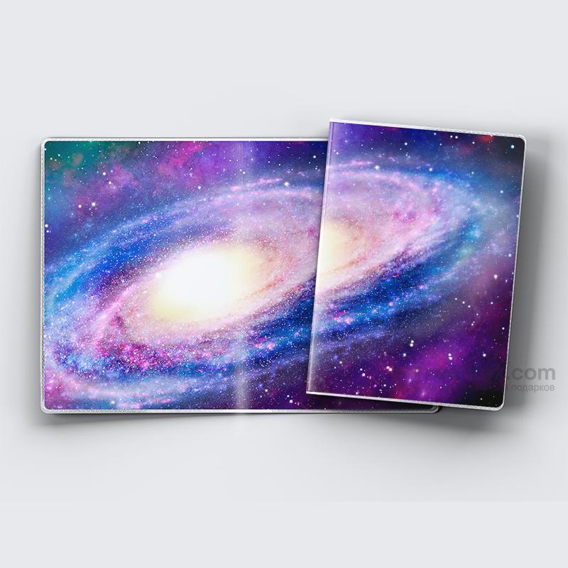 Обложка на паспорт Вселенная